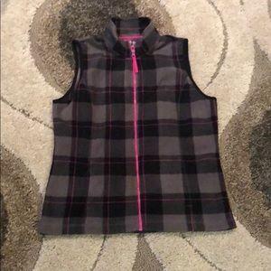 Made for Life • plaid fleece vest